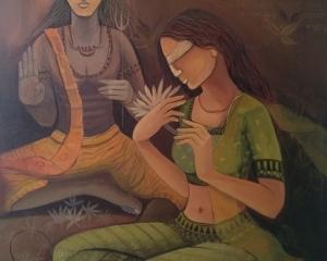 শীতের আমেজে মন ভোলানো চিত্র প্রদর্শনী--- মিরর অফ মিরাজ